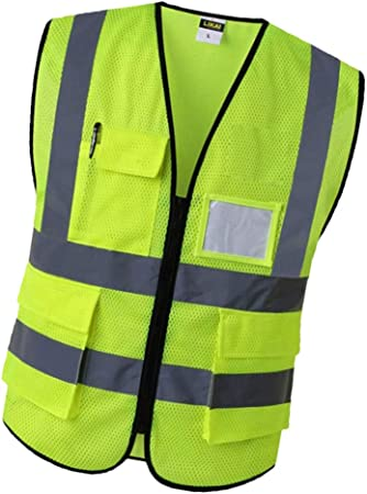 Car Reflective Clothing For Safety Vest Safe Protective Device Clothing Vest