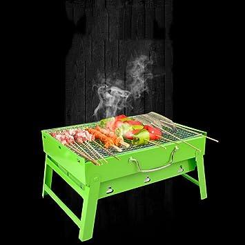 TY&WJ Portátil Plegable Barbacoa de carbón,Aire libre Hogar jardín ...