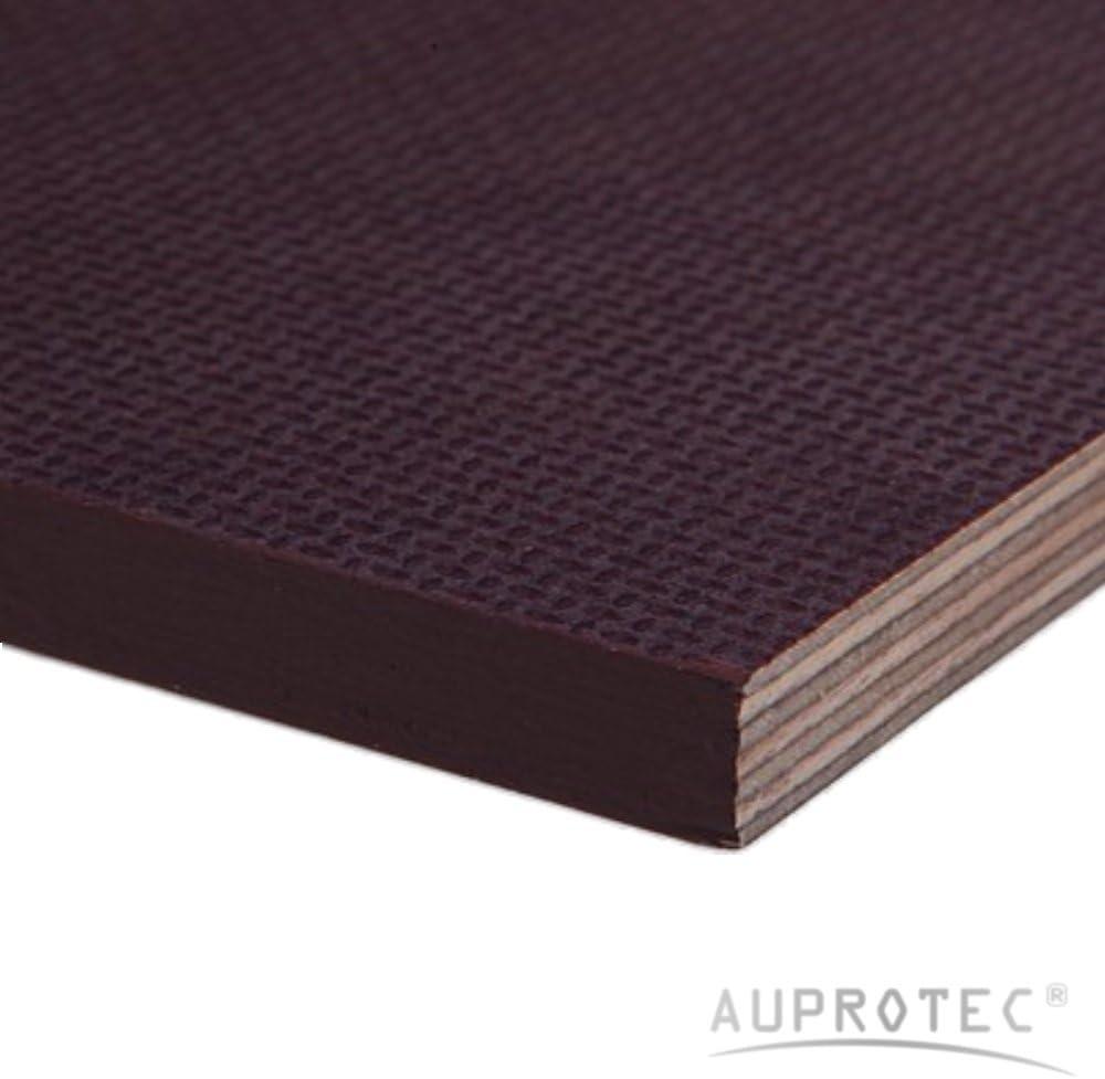 Contrachapado fen/ólico 12mm madera contrachapeada antiderrapante cortada a medida: 10x20 cm