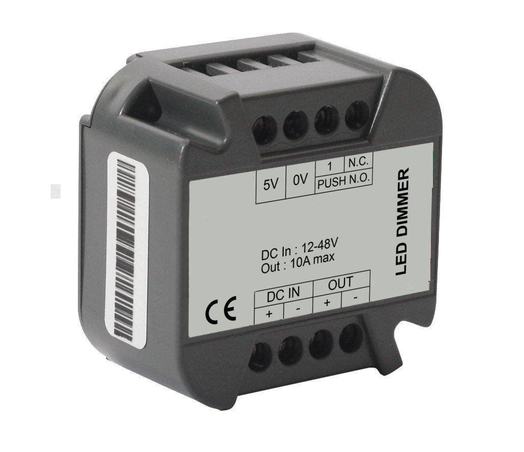 24 Volt 8 Ampere Led Dimmer Taster Push Button 12
