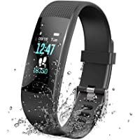KOSCHEAL Pulsera Inteligente IP68 Smartwatch, Reloj Deportivo Mujer y Hombre Monitores de Actividad Con Modos Deportivos Múltiples ,Monito De Sueño, Monito de pulso cardiaco, Notificaciones de Mensajería y Llamadas, Reloj Inteligente Compatible con Android y iOS