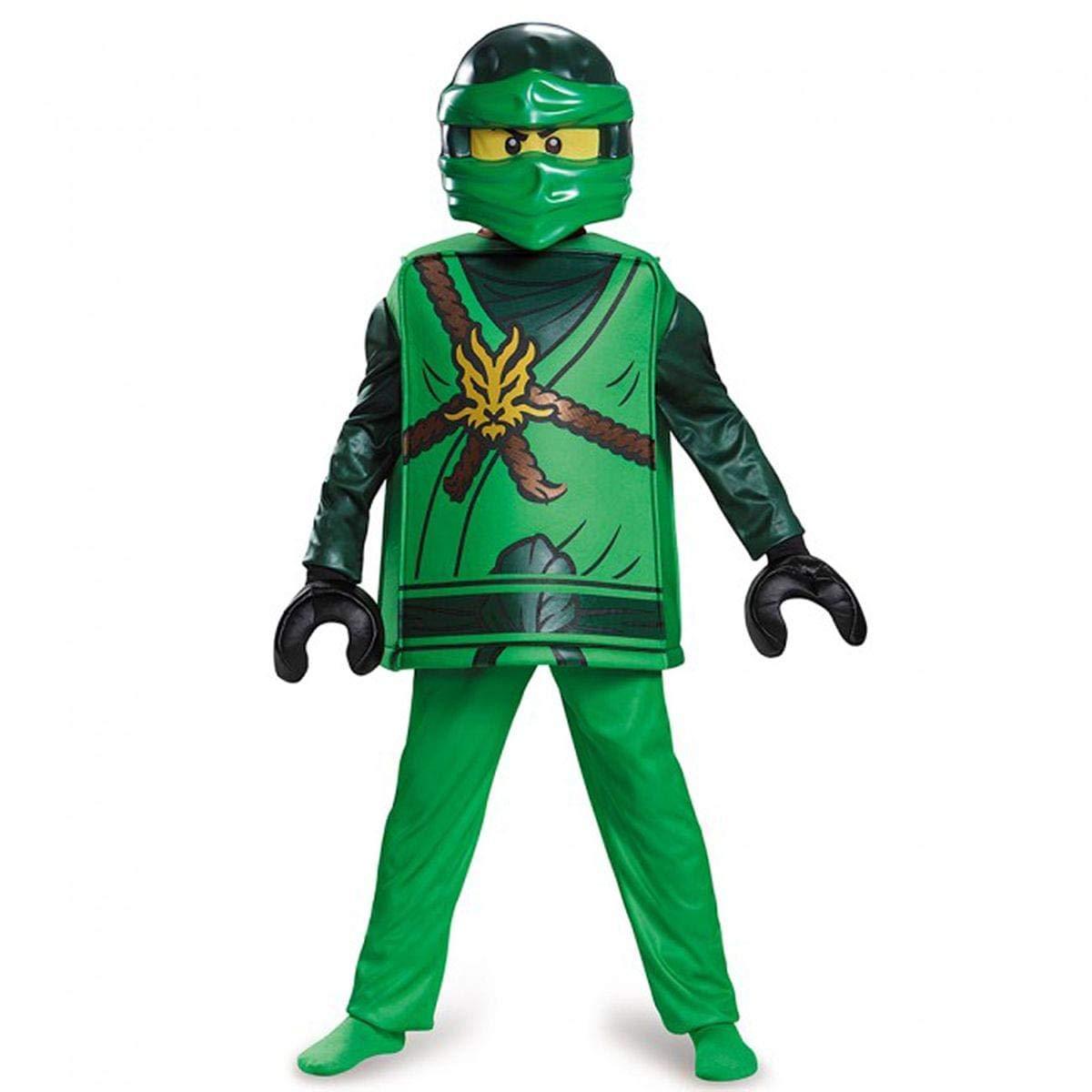 LEGO Ninjago Lloyd Deluxe – Disfraz, Disfraz, pequeño, Edad 4 – 6 años, Altura 4 '0