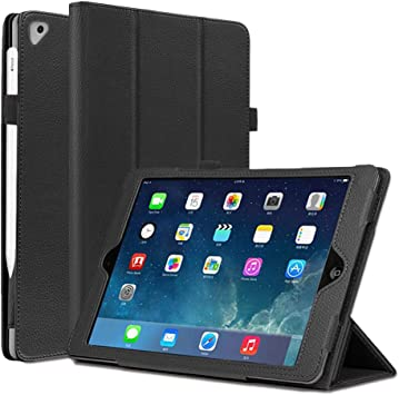 For Apple 9.7 iPad 5//6th Generation Magnetic Smart Cover Slim Leather Case Stand