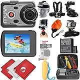 VEHO MUVI K-Series K2 Pro 4K Wi-Fi Sports Action Camera w/ 18PC Starter Kit (VCC-007-K2PRO)