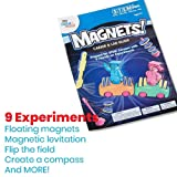 hand2mind MAGNETS! Super Science Kit for Kids (Ages 8+) - Build 9 STEM Experiments & Activity Set | Make Magnets Float, Move a Train, and Build a Compass | Educational Toys | STEM Authenticated