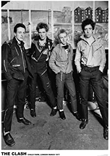 The Clash - London 1977 Poster 23 x 33in