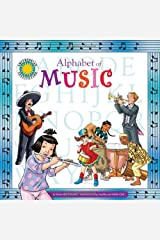 Alphabet of Music - A Smithsonian Alphabet Book (with audiobook CD and poster) Paperback