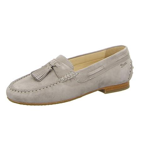 SiouxLonia-xl - Mocasines Mujer , color gris, talla 35.5: Amazon.es: Zapatos y complementos