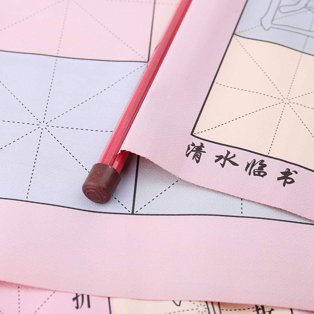 anggel/Spazzola di Pittura Riutilizzabile Magica del Panno di Scrittura dellAcqua Che disegna Rotolo Cinese di Pratica di Calligrafia per Istruzione in anticipo dei Bambini