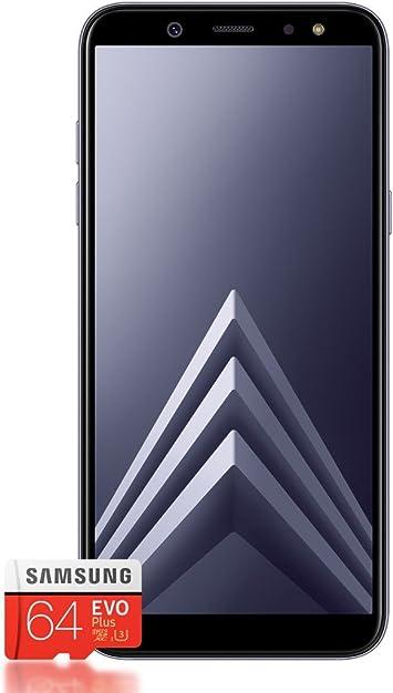 Samsung F de sma600 F zvamz Galaxy A6 15,74 cm (6,2 Pulgadas) Smartphone (Pantalla táctil, 32 GB de Memoria Interna, Android), Color Negro: Amazon.es: Electrónica