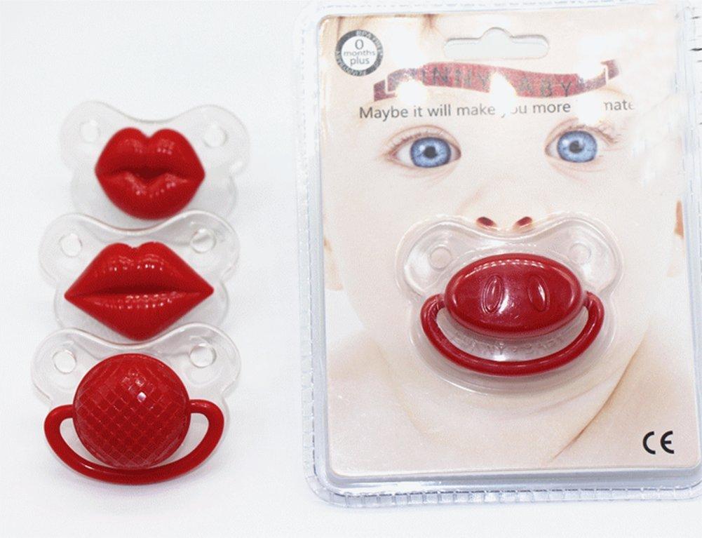 Da.Wa Chupete Caucho Divertido para Bebé Infantil de Diseño de Boca