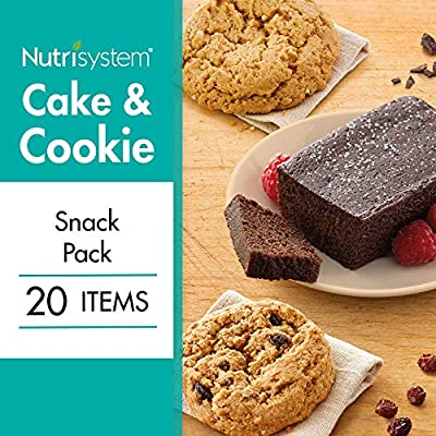 Nutrisystem® Cake and Cookie Snack Pack 20CT