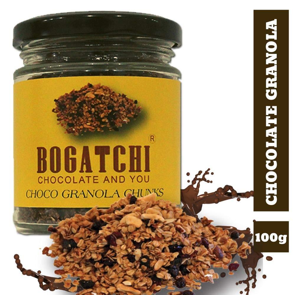 BOGATCHI Chocolate Granola Chunks – Vegan