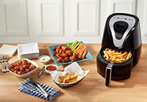 Insignia 3.2L Digital Air Fryer - Black