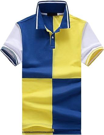 Lannister Fashion Polo Hombres De La Solapa del Retro Verano ...