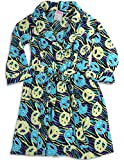 Sweet n Sassy - Little Girls' Peace Signs Robe, Turquoise, Yellow, Purple 27495-4/5