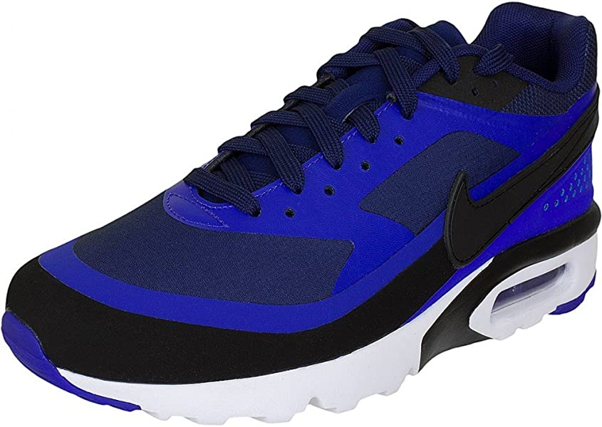 c9bb1bcbc8 Nike Air Max BW Ultra men's sneakers trainers shoes, Blue/Black ...