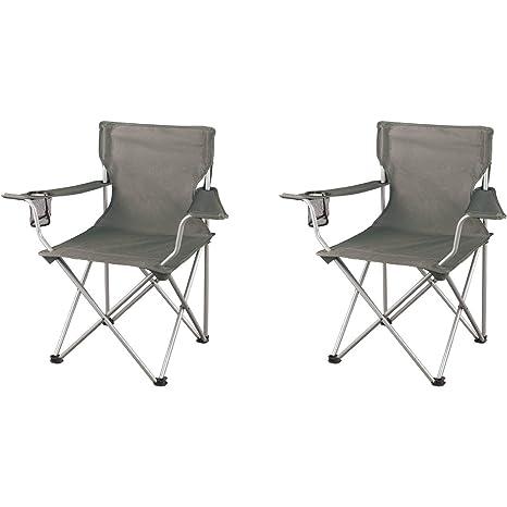 Amazon.com  Ozark Trail Regular Armchairs Grey 2-Pack  Sports u0026 Outdoors  sc 1 st  Amazon.com & Amazon.com : Ozark Trail Regular Armchairs Grey 2-Pack : Sports ...