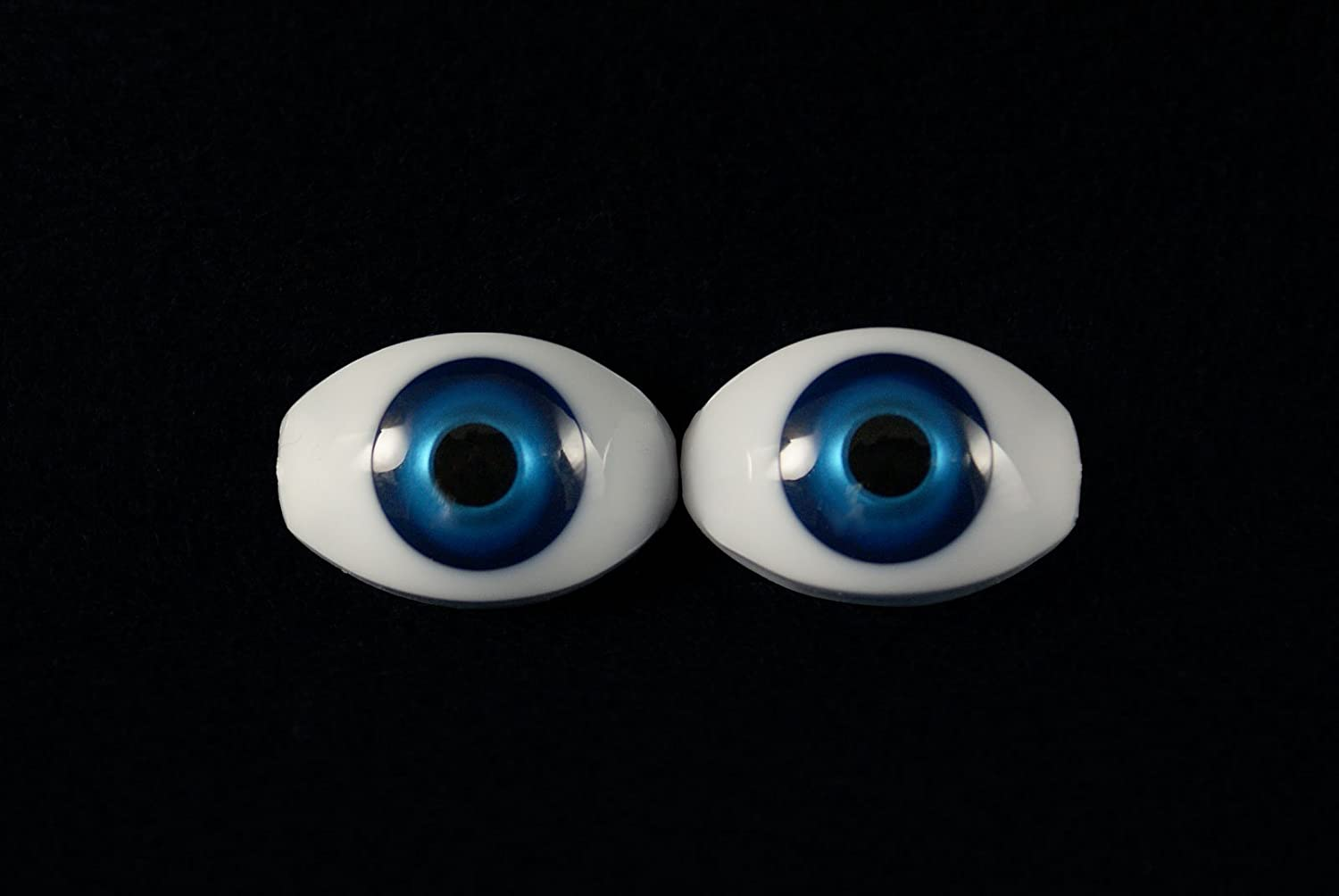 10mm Green Glastic Realistic Acrylic Doll Eyes