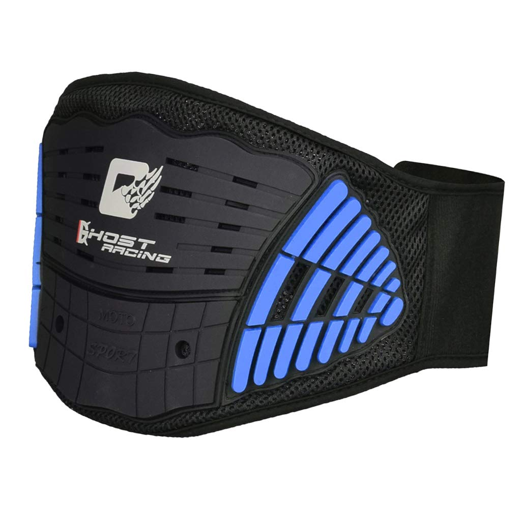 Blu Cintura Lombare Per Motocicletta Cintura Lombare Corsa Leggera