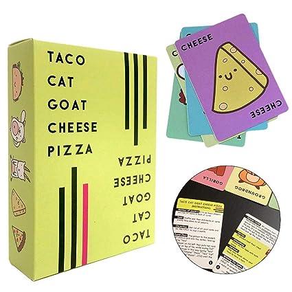 Taco Cat Goat Cheese Pizza Puzzle Juego de cartas y un ...