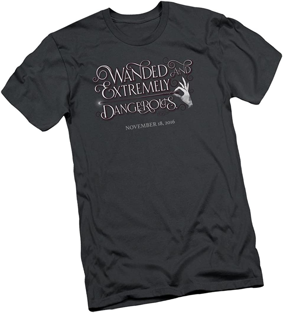 NEW /& OFFICIAL Fantastic Beasts Wanded T Shirt