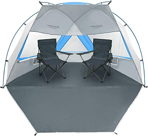Bessport Beach Tent 3-4 Person UPF 50 Easy Setup