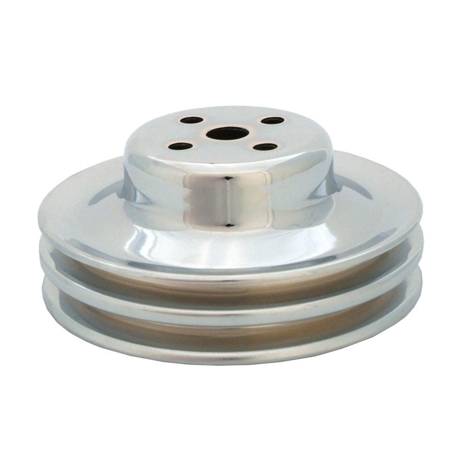 Spectre Performance 4494 Chrome Double Belt Water Pump Pulley for Ford 289 by Spectre Performance