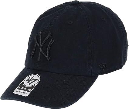 CLEAN UP New York Yankees cardinal 47 Brand Adjustable Cap