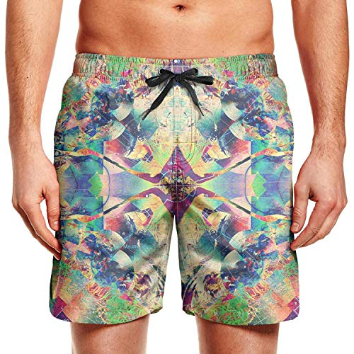 MoirlayC Cool Trippy Man Fashion Beach Shorts Swim Trunks Sports Running ShortsLittle Boys