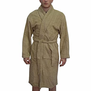 Amazon.com: Men\'s Personalised Dressing Gown Bathrobes Groom Best ...