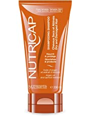 NUTRICAP Shampoo for Dry and Damaged Hair with Argan Oil and Apricot Extract, 200 ml