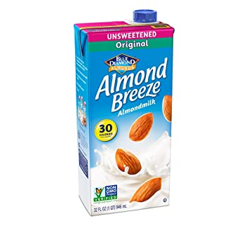 Image result for almond breeze original unsweetened