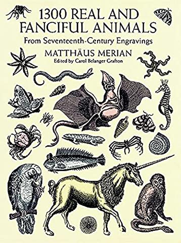 1300 Real and Fanciful Animals: From Seventeenth-Century Engravings (Dover Pictorial Archive) - Black History Collage