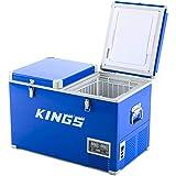 Adventure Kings 70L Fridge Freezer Mini Refrigerator Cooler Caravan Camping 4WD