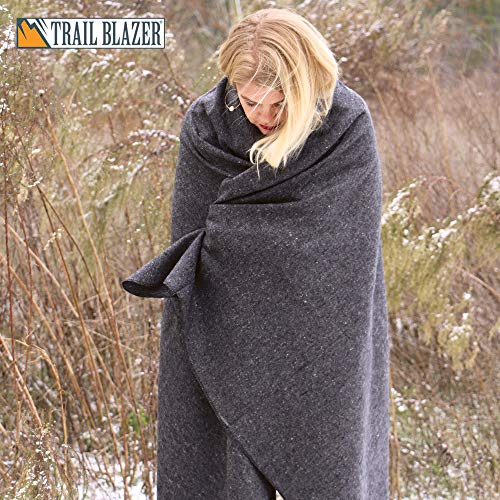 SE BI51802GR Grey Warm 2-lb. Blanket (51
