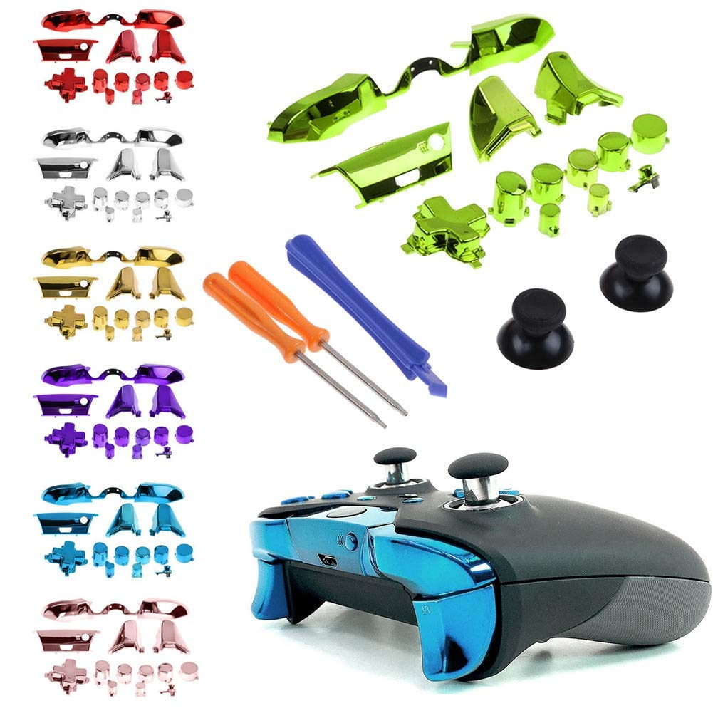 Forart Replaceable Controller Parts Compatible Xbox One Elite Controller Accessories Set Controller Parts Compatible Replaceable Sets for D-pad LB RB LT RT by Forart (Image #2)