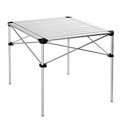 Amazon.com: KingCamp - Mesa plegable de aleación de aluminio ...
