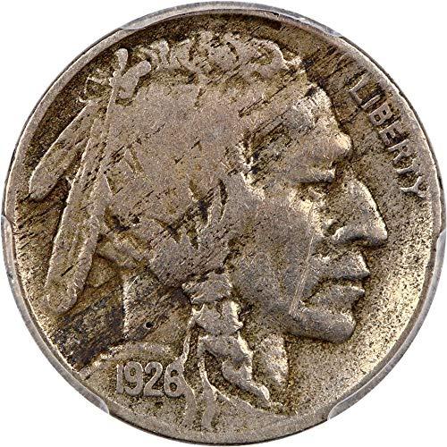 1926 S Buffalo Nickels Nickel 95 PCGS