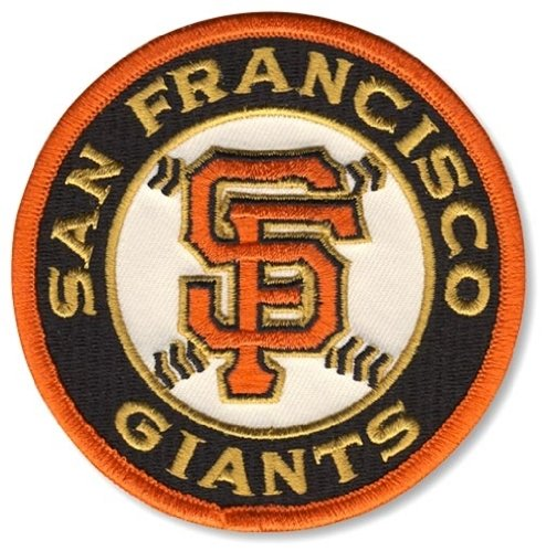 Football Fanatics MLB San Francisco Giants Embroidered Team Logo Collectible Patch