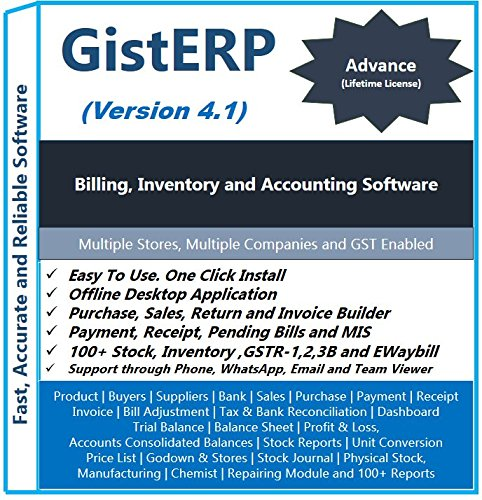 Accounting Inventory And Billing Software Advance Version Amazon - Invoice software multiple companies