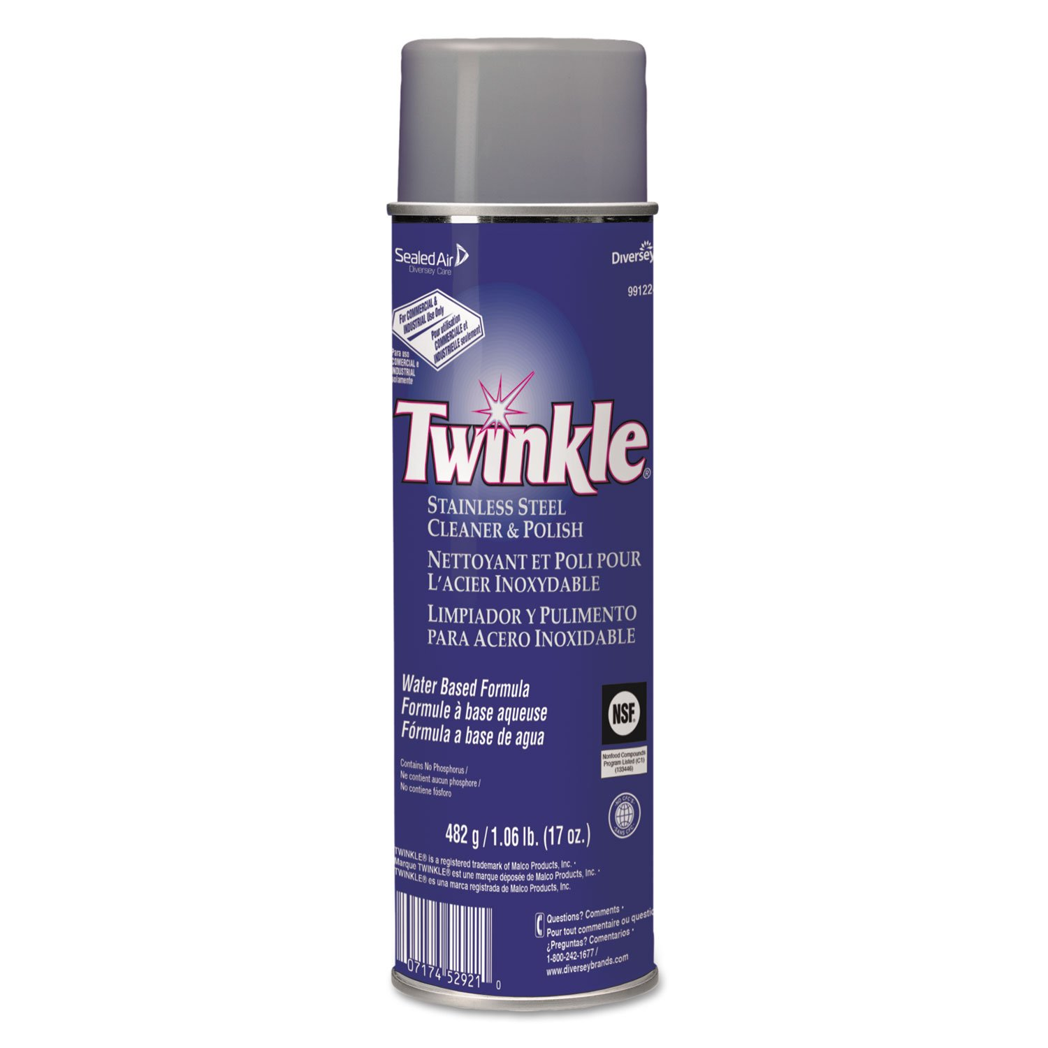 Twinkle Stainless Steel Cleaner & Polish, 17 Oz by Twinkle Products