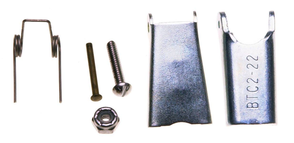 Campbell 916-U Steel Universal Latch Kit for 11-31 (5/8'') Hook