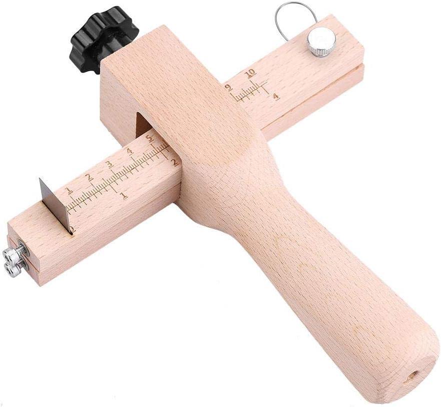 Lederschneidewerkzeug Lederschneidwerkzeug Klare Schuppenstreifen und Riemenschneider f/ür Heimwerker