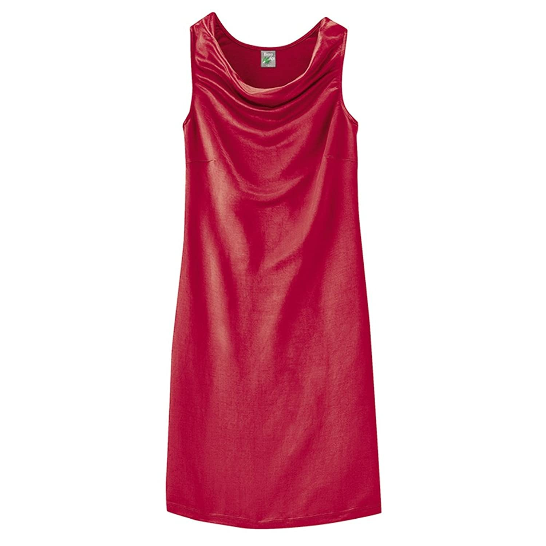 HempAge Damen Kleid Victoria aus Hanf/Bio-Baumwolle/Seide