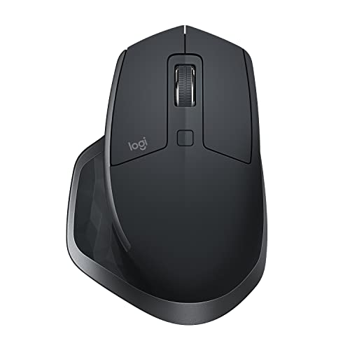 Logitech MX Master 2S Wireless Bluetooth Mouse for Mac and Windows - Graphite