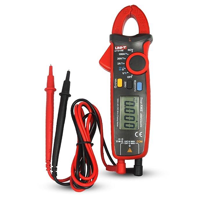 18 opinioni per UNI-T UT210E Multimetro Digitale Pinza Voltmetro Amperimetro Tester AC/DC