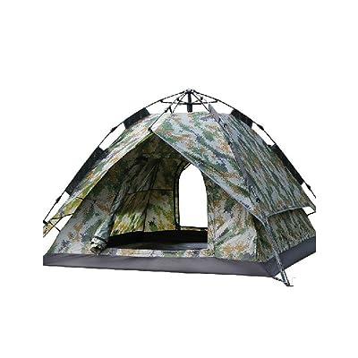 Tente de haute qualité - Type hydraulique Tente entièrement automatique 3 à 4 personnes Ouverture rapide automatique Une tente Tente extérieure à double usage --Confort de voyage à l'