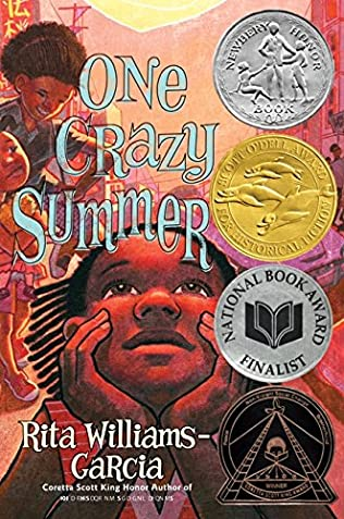book cover of One Crazy Summer
