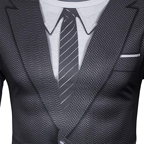 Slim Occasionnel T Longues Chemise Homme Noir Manches Xmiral Shirts Costume Veste 8cpTYT